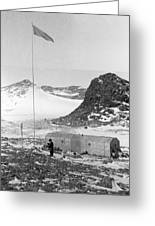 Soviet 'oasis' Antarctic Station, 1958 Greeting Card by Science Photo Library