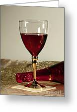 Sparkling Wine For One Greeting Card by Inspired Nature Photography By Shelley Myke
