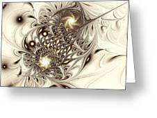 Sparrow Greeting Card by Anastasiya Malakhova