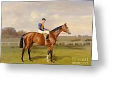Spearmint Winner of the 1906 Derby Greeting Card by Emil Adam