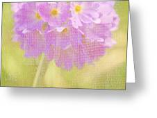 Sphere Florale - 01tt01a Greeting Card by Variance Collections