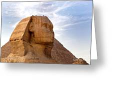 Sphinx Egypt Greeting Card by Jane Rix