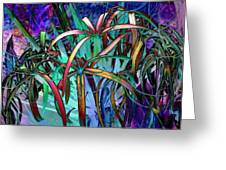Spider Lilly Greeting Card by Athala Carole Bruckner
