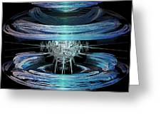 Spiral Movement Greeting Card by Michael Durst