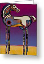 Spirit Horse Greeting Card by Bob Coonts
