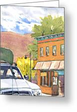 Spirit Of Moab Greeting Card by Jeff Mathison