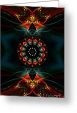 Spiritual Magic Greeting Card by Hanza Turgul