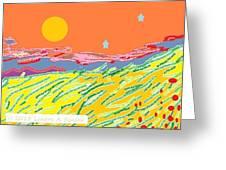 Splendor Greeting Card by Lenore Senior