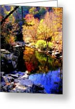 Splendor Of Autumn Greeting Card by Karen Wiles