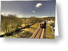 Spring At Seaton Junction  Greeting Card by Rob Hawkins