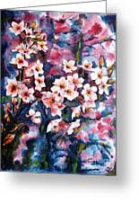 Spring Beauty Greeting Card by Zaira Dzhaubaeva
