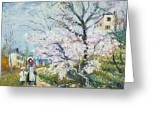Spring Blossom Greeting Card by Henri Richet