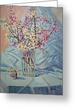 Spring Blossoms Greeting Card by Bonita Waitl