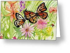 Spring Fancy Greeting Card by Laneea Tolley