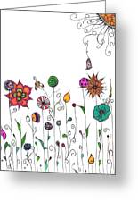 Spring Has Sprung Greeting Card by Lori Thompson