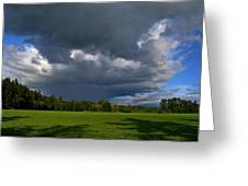 Spring Showers Greeting Card by JM Photography    Jim Mullholand