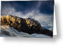Spring Thaw Greeting Card by Bob Orsillo