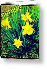 Spring Greeting Card by Thommy McCorkle