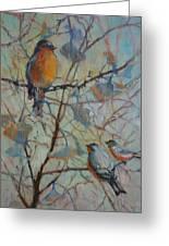 Spring Verse Greeting Card by Donna Shortt