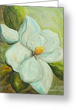 Spring's First Magnolia 2 Greeting Card by Eloise Schneider