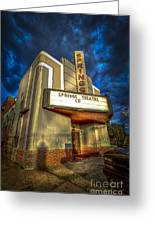 Springs Theater Co Greeting Card by Marvin Spates