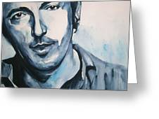 Springsteen Greeting Card by Brian Degnon