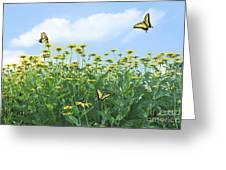 Springtime Greeting Card by Diane Diederich