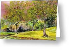 Springtime In Sawgrass Park Greeting Card by Gary Debroekert