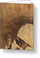Square Tower Greeting Card by Jack Atkins