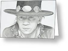 SRV Greeting Card by Don Medina