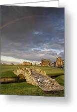 St Andrews Bridge Greeting Card by Chris Frost