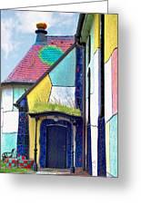 St Barbara Church - Baernbach Austria Greeting Card by Christine Till