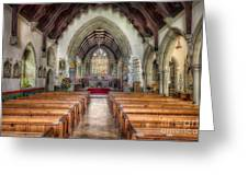 St Davids Church Greeting Card by Adrian Evans