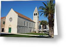 St Dominic Monastery In Trogir Greeting Card by Kiril Stanchev