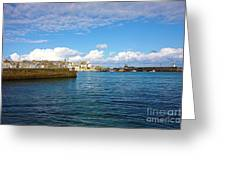St Ives Cornwall Greeting Card by Terri  Waters