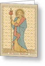St James The Great Greeting Card by English School