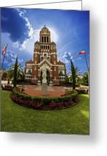 St Johns Cathedral Greeting Card by Madison Baltodano