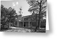 St. John's College Santa Fe Weigle Hall Greeting Card by University Icons