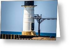 St. Joseph Outer Lighthouse Photo Greeting Card by Paul Velgos