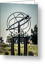 St. Joseph Whirlpool Compass Fountain Water Cannon Greeting Card by Paul Velgos
