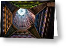 St Joseph's Spire Greeting Card by Dave Bowman
