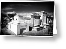 St. Louis Cemetery #1 Greeting Card by John Rizzuto