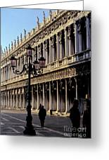 St. Mark's Square Venice Italy Greeting Card by Ryan Fox