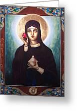 St. Mary Magdalene  Greeting Card by Fr Barney Deane