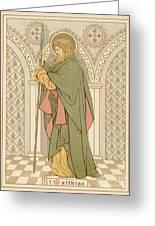St Matthias Greeting Card by English School