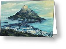 St. Michael's Mount Greeting Card by Terry Albert