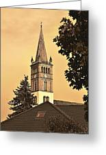 St. Nicolai Kirche / St. Nicholas Church Greeting Card by Gynt