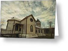 St. Pauls Anglican Church Greeting Card by Priska Wettstein