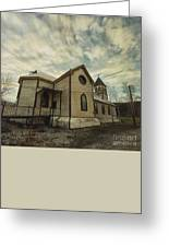 St. Pauls Anglican Church Greeting Card by Priska Wettstein