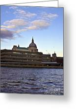 St Paul's Cathedral London Greeting Card by Terri Waters